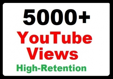 5000+ High-quality YouTube Video Promotion Safely and the fastest delivery
