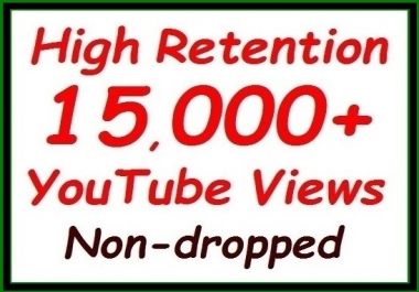 10000+ to 12000+ YouTube Views fully safe+500 video Likes extra all non-dropped guaranteed