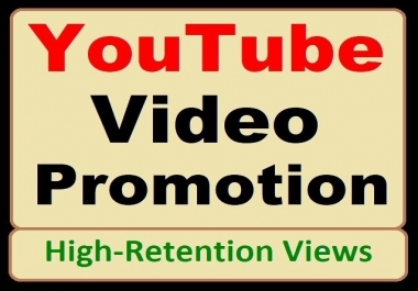 YouTube Video Marketing and Social Media Standard Promotion