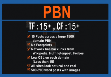 Buy 50 Co-Citation PBN Dofollow links