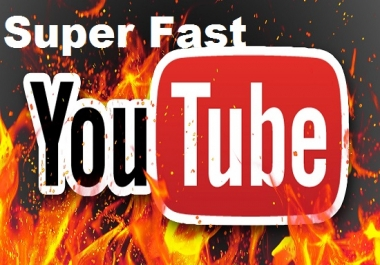 Super Fast 4000 YouTube views