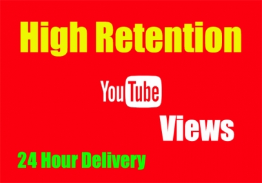 High Retention 50000 YouTube views in 72 Hour