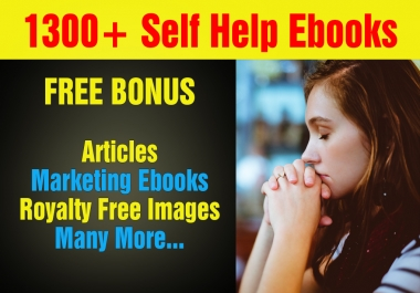 Over 1300 Mrr,Plr Self Help Ebooks And Articles