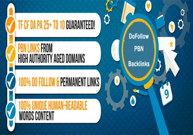 10 Permanent DoFollow DA35+ PBN  link