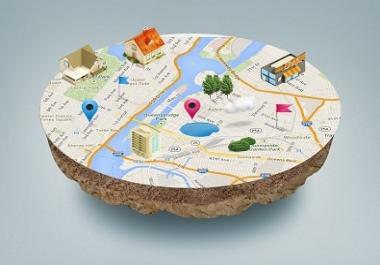 I will do 60 google maps citation manually local SEO