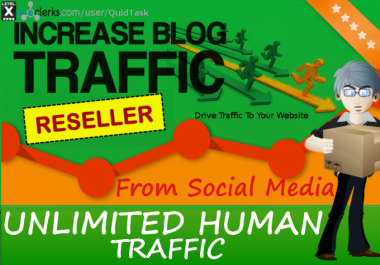 Reseller offer - Unlimited ORGANIC Traffic for 30 days