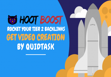 HOOT Boost - Rocket Your Tier 2 Backlinks, Get Signals and Video Creation that bring TRAFFIC