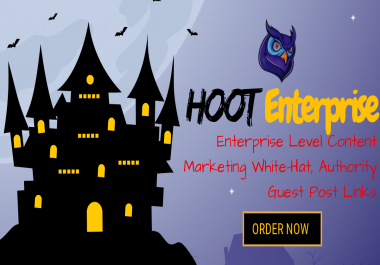 HOOT Enterprise - White Hat WEB 2.0 Blogs Creation, WEB 2.0 Backlinks and Social Signals