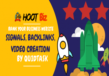 HOOT Biz - Rank Your Business Website with Social Signals, Backlinks and Video Creation with Submission