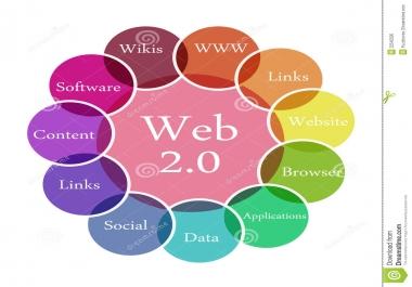 Create25 High DA PA Web 2.0 Backlinks