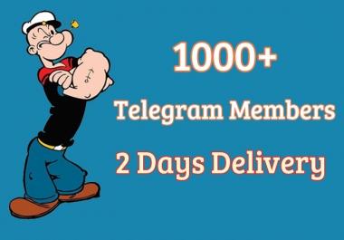 buy telegram Members 1000+