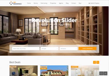 Design Construction Real Estate Architecture Website Design