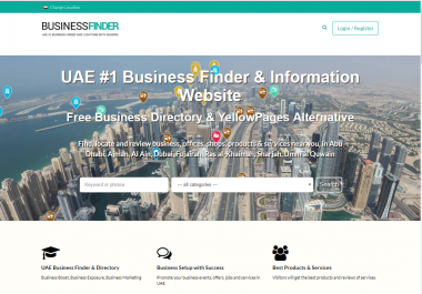 Design Business Directory Listing Any Booking Website