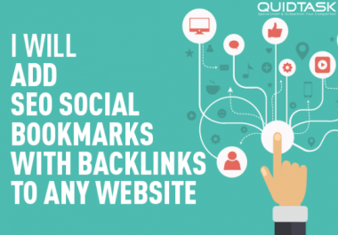Create 2000 SEO Bookmarks splittable up to 2 links