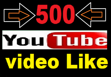 HQ 500 Youtube worldwide video Like only
