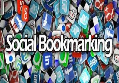 High Quality Backlinks on 20 Social Bookmarking Sites from PR7 to PR9 multiple account