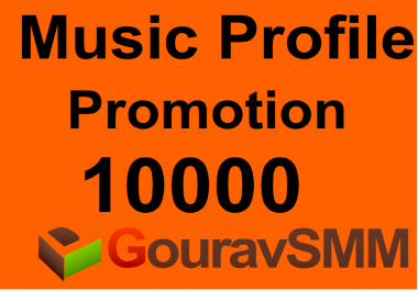 10000+ Followers Or Likes Or Repost on your Music Profile or Track