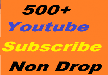 I will givve you 500 youtube subscribers or 1000+ youtube video likes or 300 youtube comment