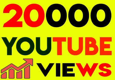 Fast 20,000+ Youtube Views 100 likes High Retention, non drop guarantee within 24hrs