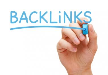 25 Unique Dofollow Anchor Text Authority Backlinks