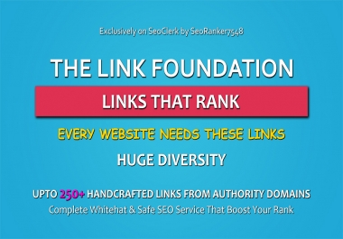 The Link Foundation - Complete White Hat Authority Link Building Service