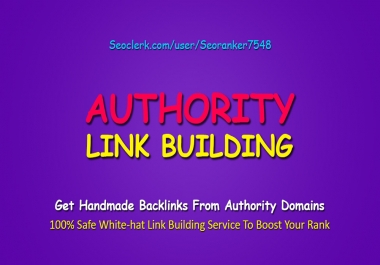 The Link Foundation - 2019 Rank Booster Complete White-Hat Authority SEO Link Building Service