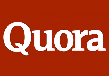 Provide You 20 High Quality Quora Answers with Live URL
