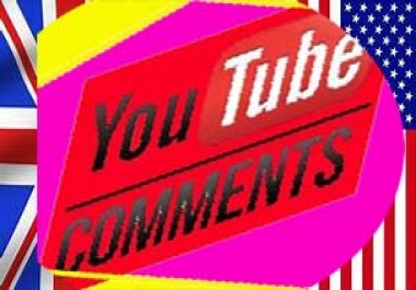 Guarantee 35 you tube custom comments supper fast deliver non drop OR Manually  100++ youtube channel sbscriber for $1 per link  Or 300 video like for