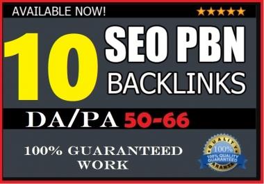 10 Powerful High PA/DA PBN Dofollow Links PA/DA Guarantee