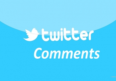 add 50 high quality USA based twitter comments