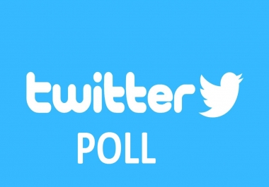 bring 125 Twitter Poll Votes to your Contest