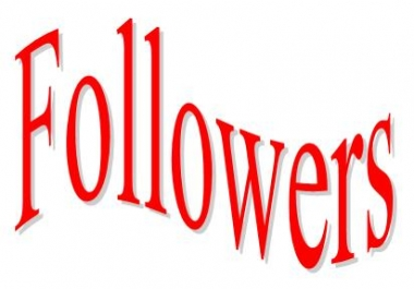 HQ Quality 200*****  Followers for  Social Media Promotion