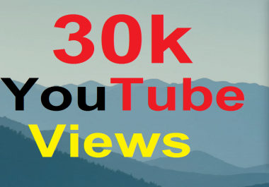 Get 1,000 YouTube Vi ews Retention will be 80%-99% Non Drop Instant Start