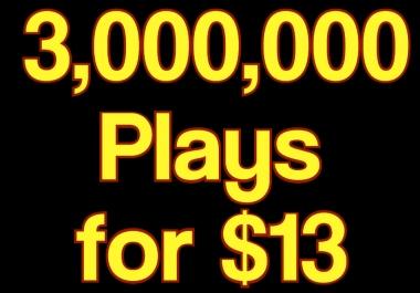 Get 3,000,000 High Retention Music Play,200 LlKE, 120 Rep0st 10 C0mments