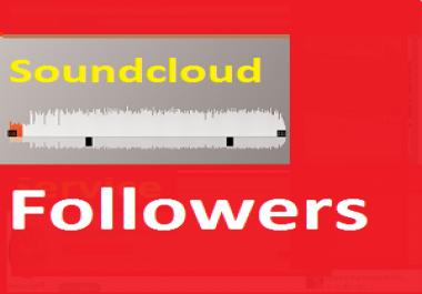 1000 High Quality Soundcloud Followers