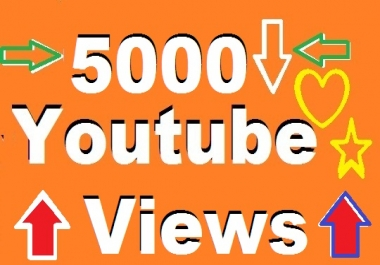 super fast 10004 to 12055 youtube video views+1 comment+1 subscribe  12-24  hours delivery