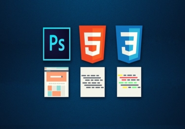 Convert PSD to HTML Responsive