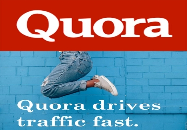 promote your Website With 20 high quality Quora Answers