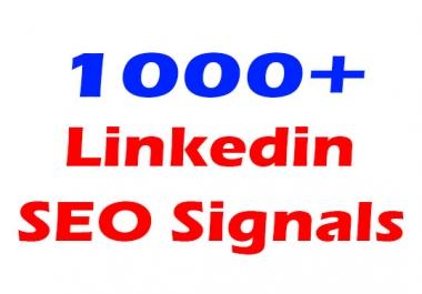 1000+ Linkedin social bookmarking seo signals, Website share