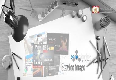design a stunning Seoclerks service image