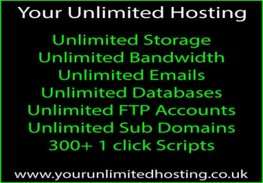 2 Years Unlimited Website Hosting with cPanel & WordPress Install