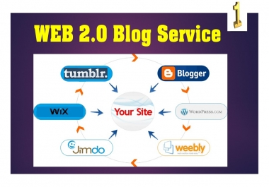 Create 25 Web 2.0 Blog Sites For High Rating