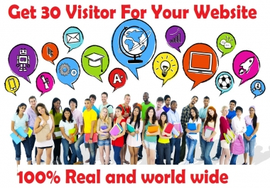Get 15 Real Visitor signup For Your Website