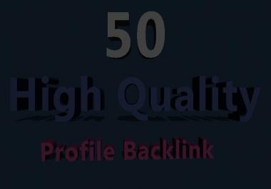 50 PR9 High Authority Profile Backlinks
