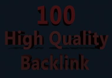 Get 100  High Quality PR9 & PR8 & Edu & Gov. Profile Backlinks