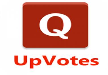 110 worldwide quora upvotes
