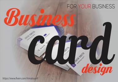 create a unique business card