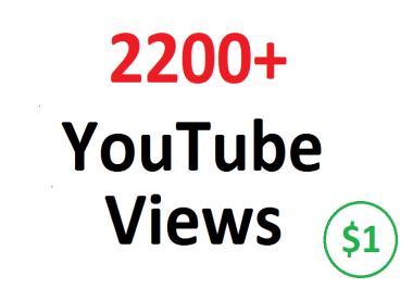 Add 2200+ 2K FAST YouTube his guaranteed