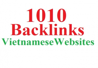 Post, Insert Backlink To 1010 Vietnamese Websites