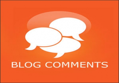 Promote website with HQ 40 Blog comment
